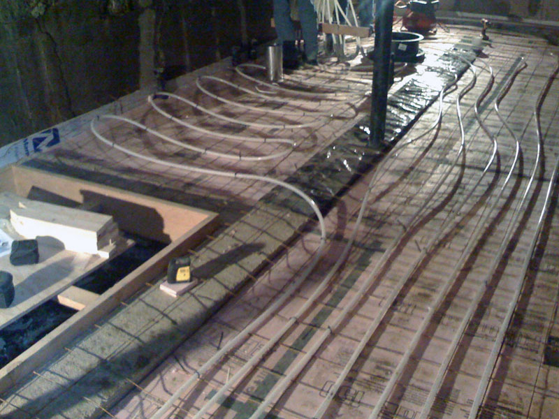 basement slab
