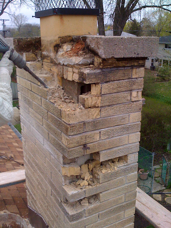Masonry Project Chimney Repair
